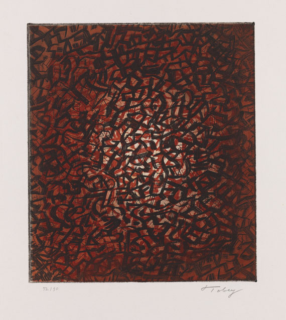 Mark Tobey - Awaking Earth